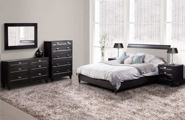 mobilier chambre coucher contemporain. Black Bedroom Furniture Sets. Home Design Ideas