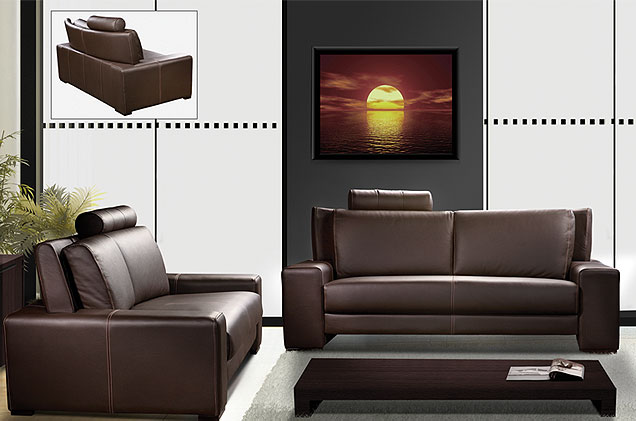 sofa causeuse mobilier de maison salon contemporain. Black Bedroom Furniture Sets. Home Design Ideas